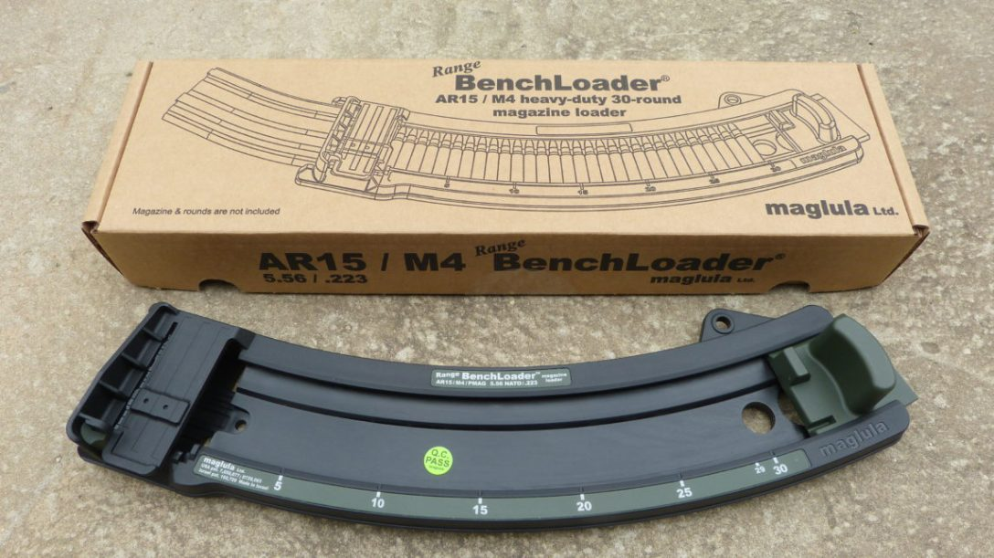 Maglula AR15 / M4 5.56 / .223 Range BenchLoader® 30rd loader W/Carry Bag