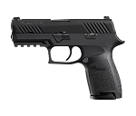 Sig Sauer, P320 Compact, Semi-Automatic Pistol, Striker Fired, 9MM, 3M1913 Rail, 15Rd, 2 Magazines