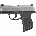 Sig Sauer, P365, Semi-automatic Pistol, Striker Fired, Sub-Compact, 9MM, 3.1