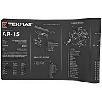 TekMat, AR-15 Ultra Ultra Premium Gun Cleaning Mat, Includes Small Microfiber TekTowel, Packed In Tube