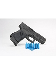 A-Zoom, 9MM Centerfire Pistol Blue Value 10 Pack